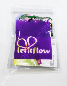 Duo assorbenti LetItFlow Overnight velour bamboo