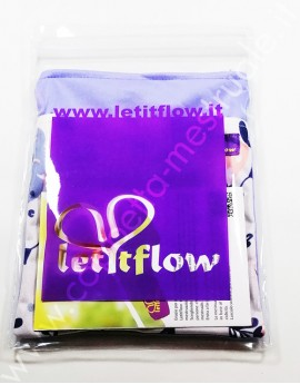 Wet Bag doppia cerniera Medium LetitFlow (18x20cm)