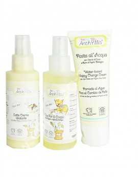 ANTHYLLIS BABY Combo Latte corpo, pasta all'acqua e Olio corpo