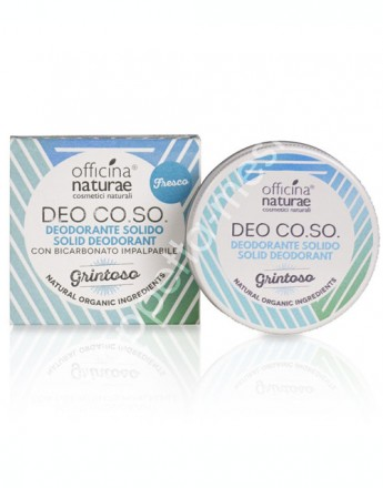 Deodorante solido biologico CO.SO -Grintoso (Fresco) 50ml