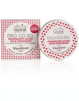 Deodorante solido biologico CO.SO -Vanitoso (Cocco e vaniglia) 50ml