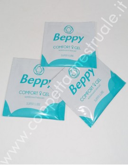 3 bustine lubrificante Beppy da 5 ml