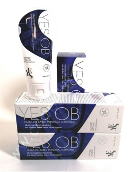 Lubrificante Yes OB 40 ml- Biologico olio vegetale