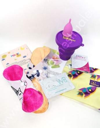 Starter Kit Teen Soft Ciclo Zero Rifiuti LetItFlow