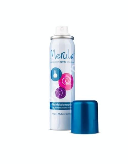 Spray Merula per disinfezione coppetta , sfere e toys