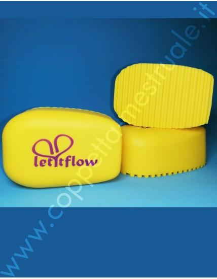 Spassy Mini spazzola in silicone per tessuti delicati