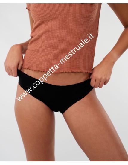 REBECCA Slip per mestruazioni a vita bassa cotone bio