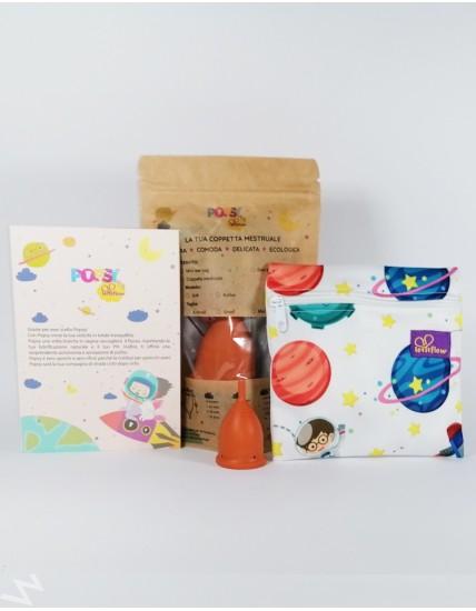 Popsy Soft menstrual cup Xsmall