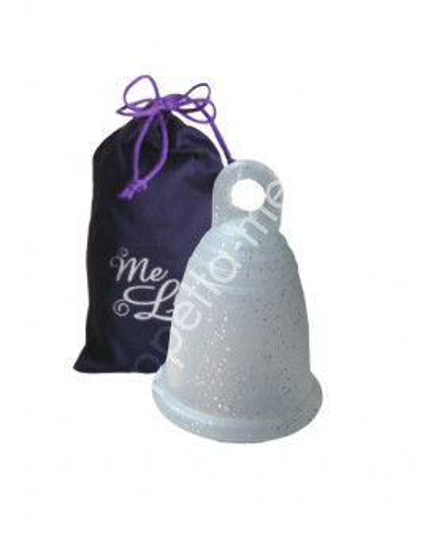 MeLuna soft Anello glitter argento