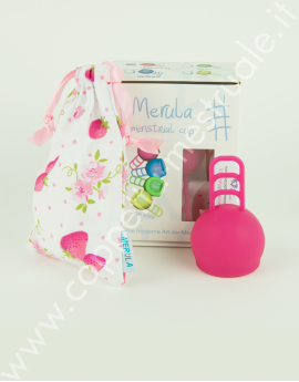 Coppetta mestruale One Size Merula Strawberry