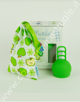 Coppetta mestruale Merula One size Apple