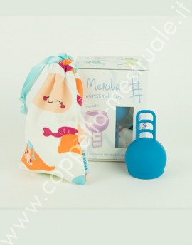 Coppetta mestruale Merula One size Mermaid