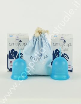 Amycup Crystal Menstrual cup