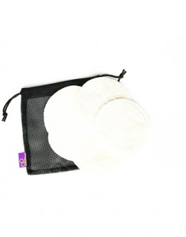Set 5 reusable Cosmetic pad in a net