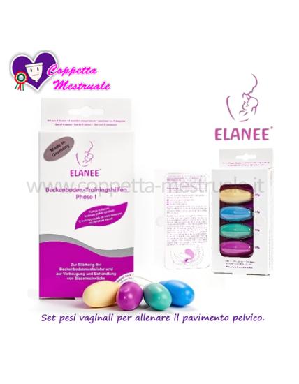 Set coni vaginali Elanee Fase I per perineo