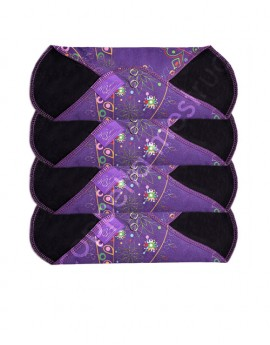 MeLuna Cloth Pad in cotton- 4 pcs pack