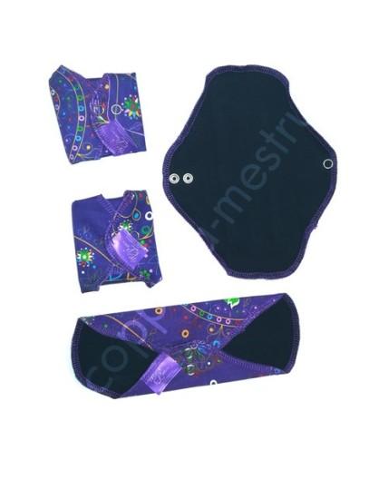 MeLuna Cloth Pad in cotton- 4 pcs pack