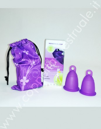 Set dual Meluna classic ring menstrual cup- Limited edition