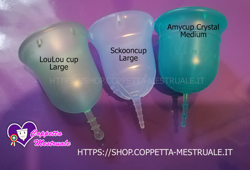Loulou cup comparativo large